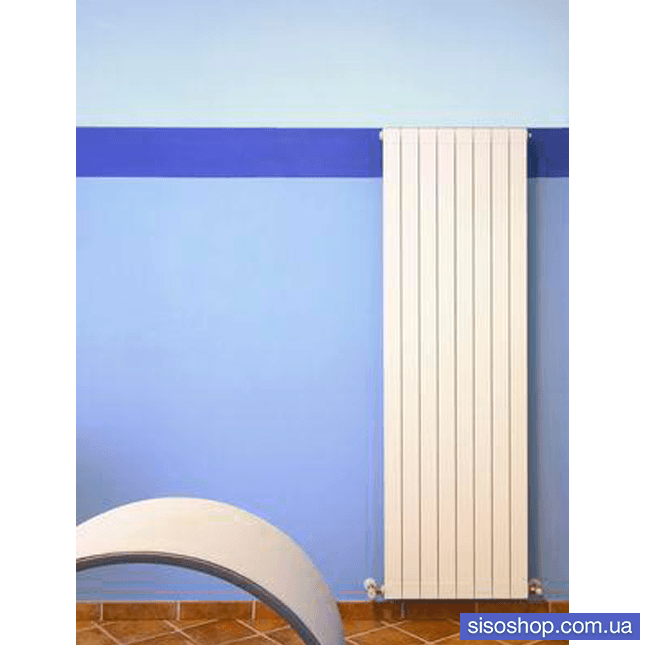 Вертикальний дизайнерський радіатор Global Oskar 1400/100