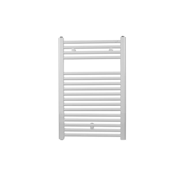 Водяной полотенцесушитель Zehnder Virando 786 x 500 для закрытых систем отопления, белый