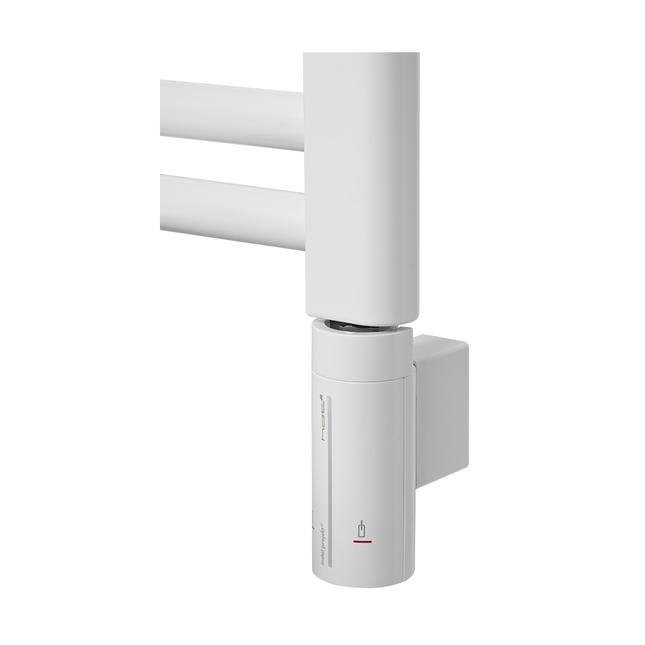 Электрический полотенцесушитель Zehnder Virando 786 x 500 мм с программируемым нагревателем HOTS, белый
