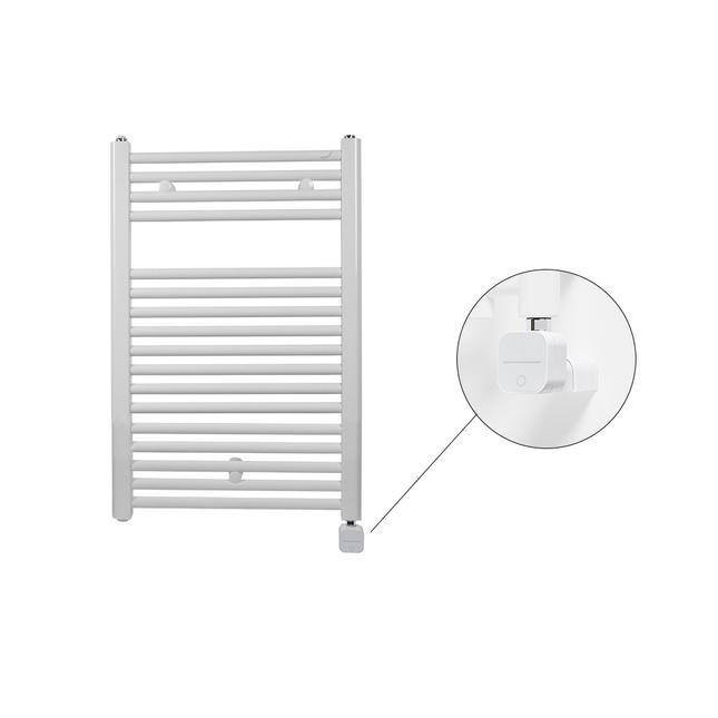 Электрический полотенцесушитель Zehnder Virando 786 x 500 мм с программируемым нагревателем NEX, белый