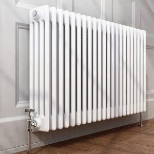 Горизонтальный радиатор центрального отопления Zehnder Charleston 920 x 600 x 136, белый фото 4