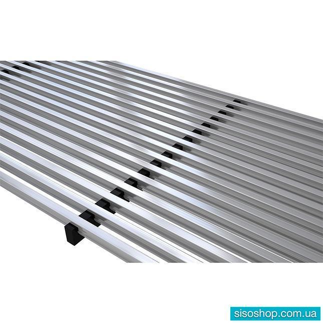Решетка для внутрипольных конвекторов Verano VK15, алюминиевая