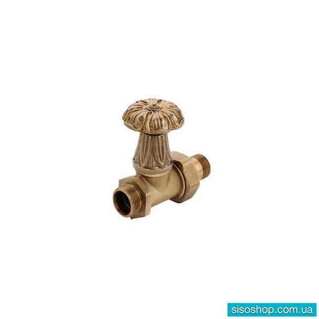 Дизайнерские клапаны для радиаторов Carlo Poletti, прямой, оригинал