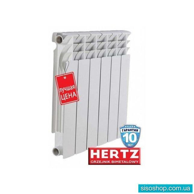 Биметаллический секционный радиатор Hertz